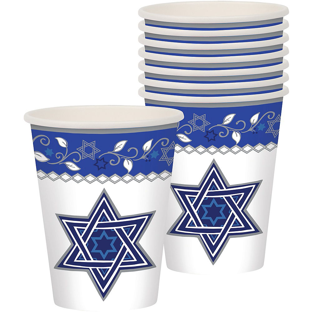 Joyous Holiday Passover Cups 8ct Image #1