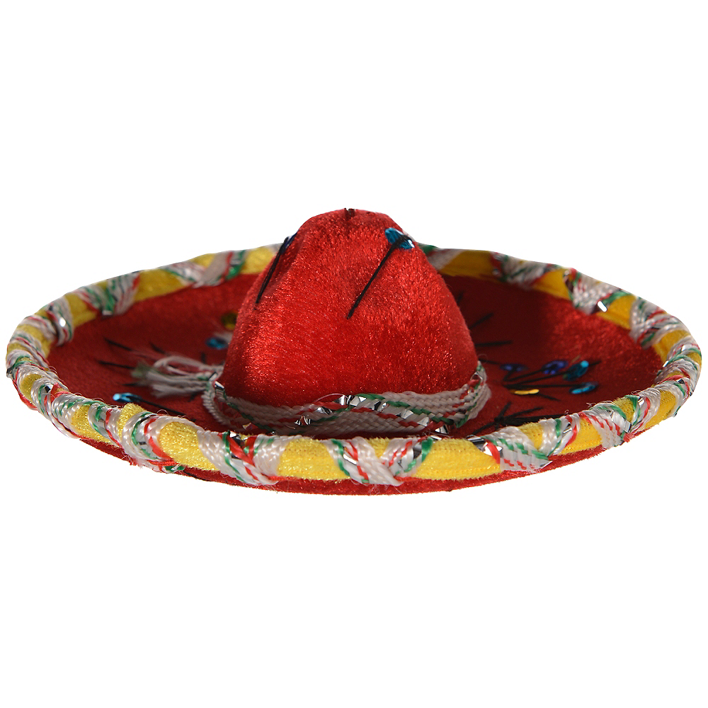 Mini Red Sombrero Image #2