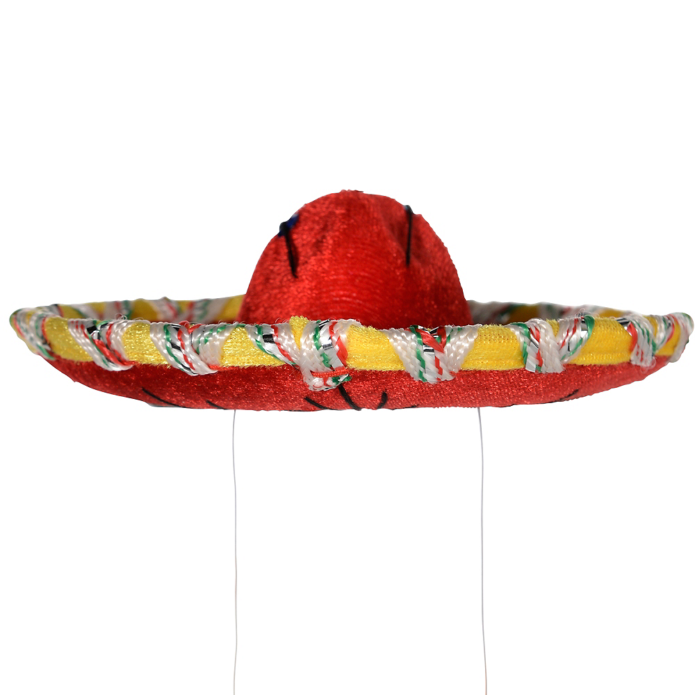 Mini Red Sombrero Image #3