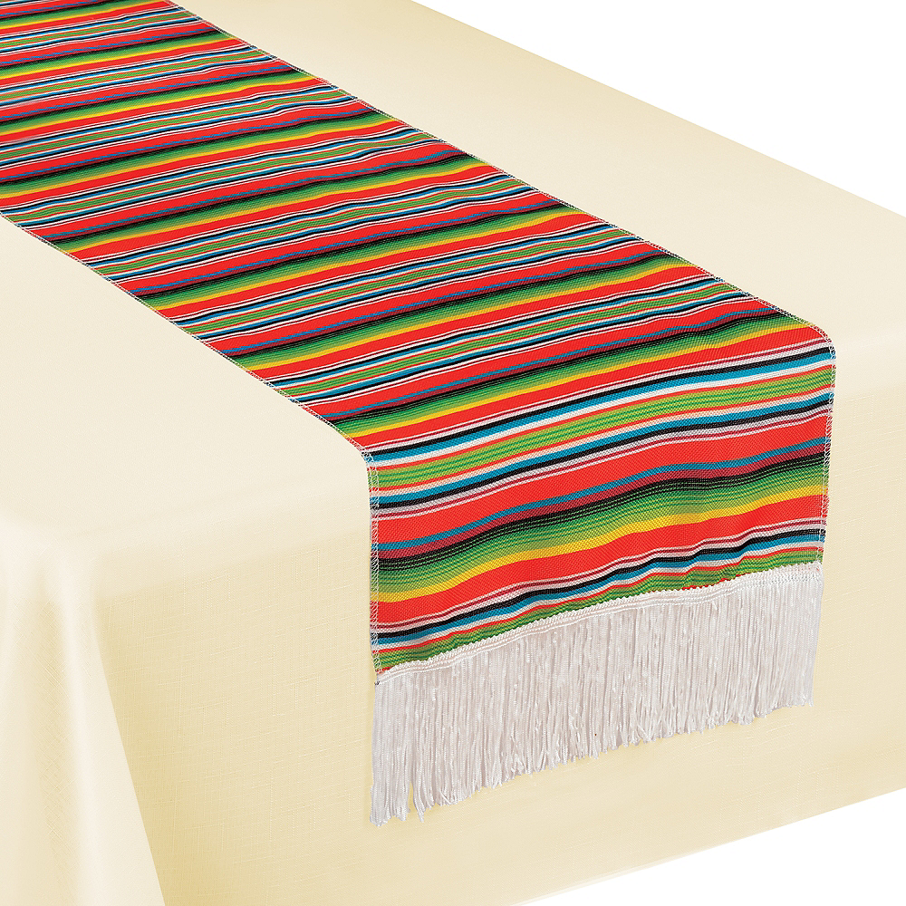 Serape Striped Table Runner Image #1