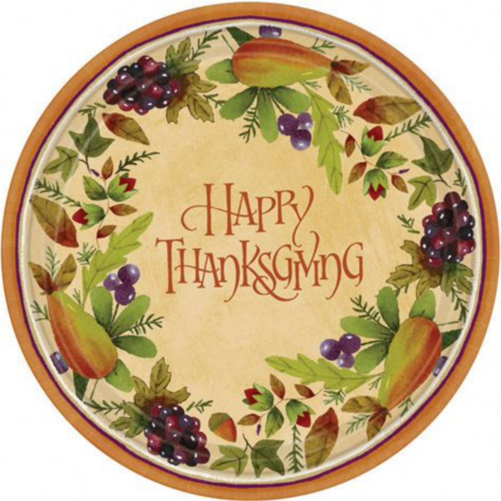 Thanksgving Medley Tableware Kit for 8 Guests Image #2