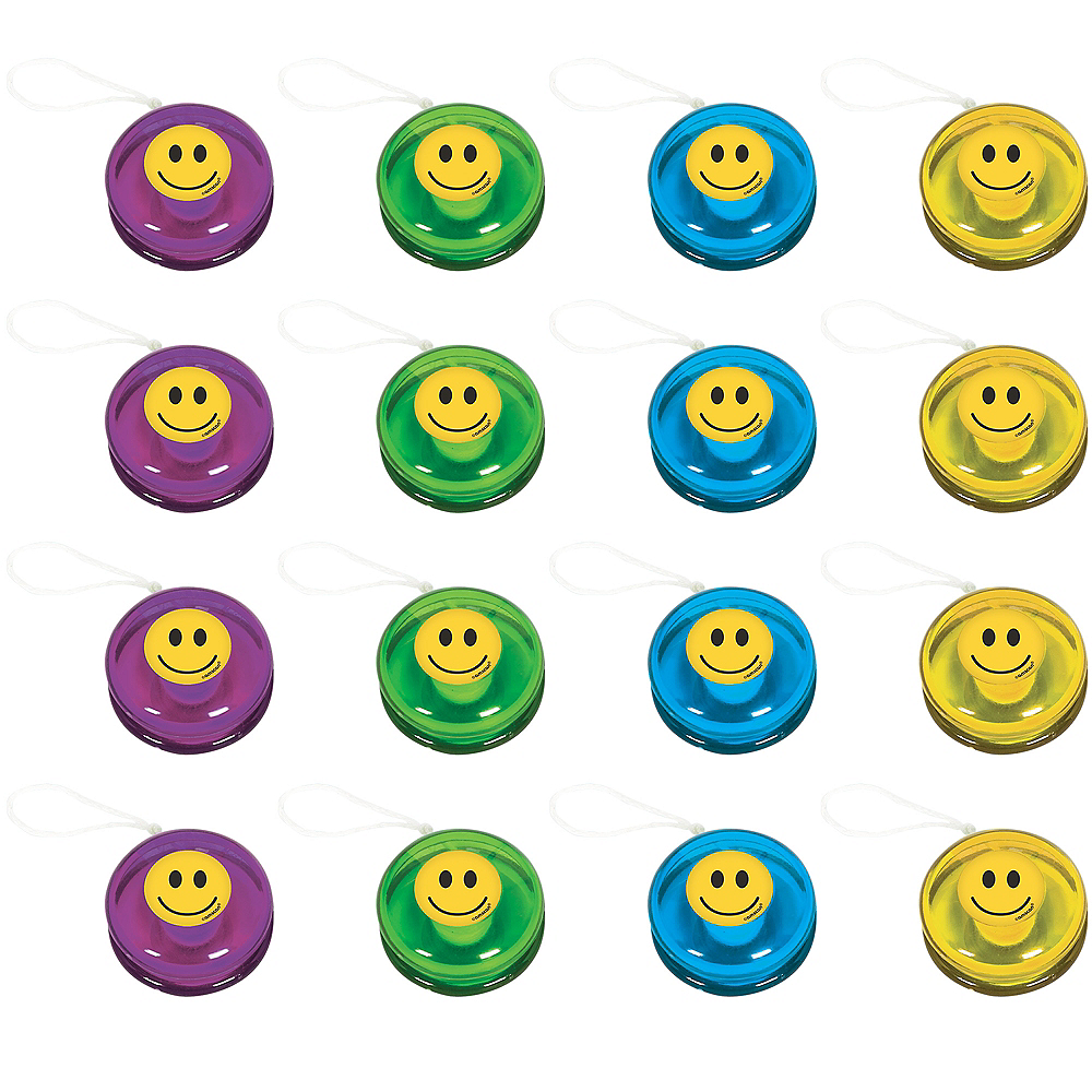 Smiley Yo-Yos 16ct Image #1