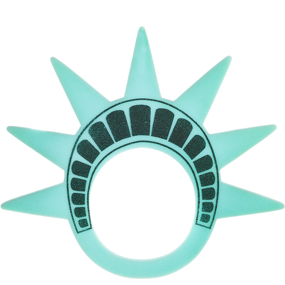 Foam Lady Liberty Crown Image #1