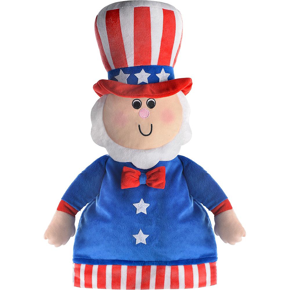 Plush Patriotic Uncle Sam Hat Image #2