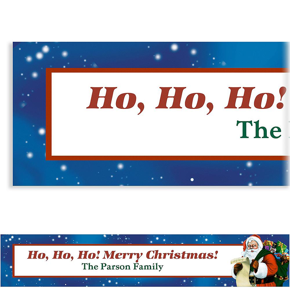 Custom Classic Santa Banner Image #1