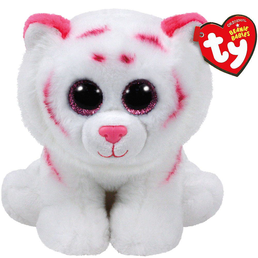 Tabor Beanie Babies Tiger Plush 5 1 2in X 6in Party City