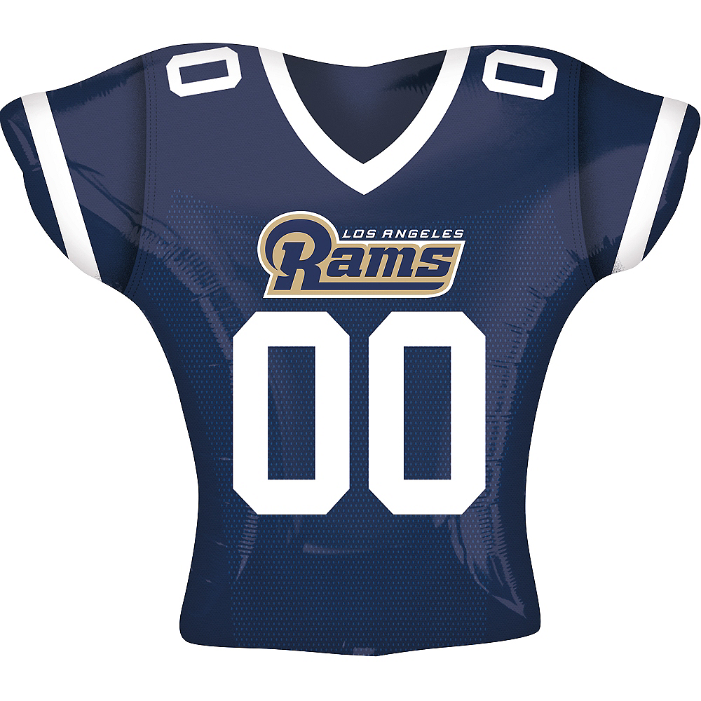 Los Angeles Rams Balloon - Jersey Image #1
