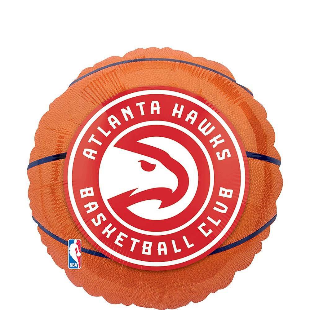 Atlanta Hawks Balloon - Basketball Image #1