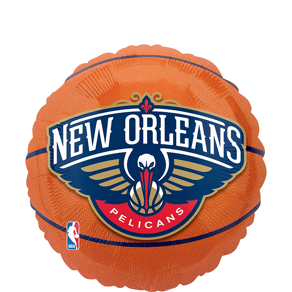 New Orleans Pelicans Balloon Basketball