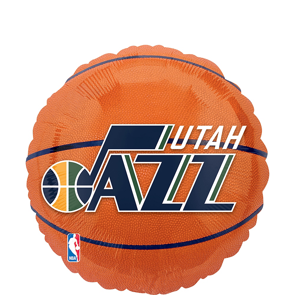 Utah Jazz Balloon - Basketball Image #1