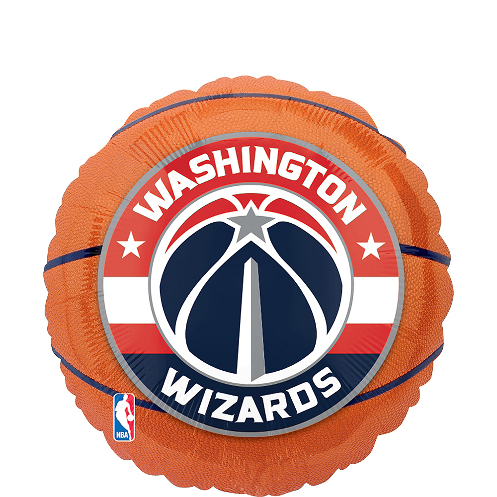 Washington Wizards Balloon - Basketball Image #1