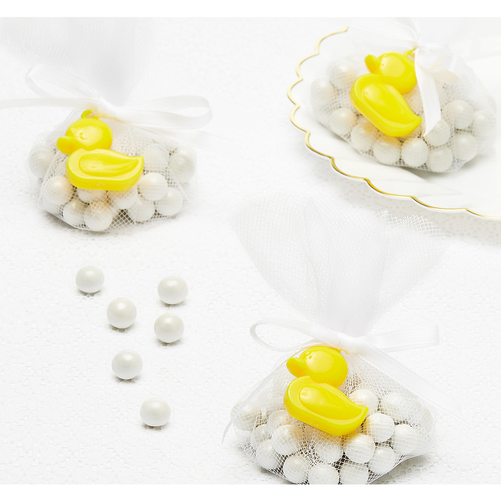 Ducky Baby Shower Favor Charms 12ct Image #1