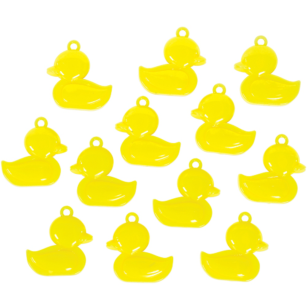 Ducky Baby Shower Favor Charms 12ct Image #2