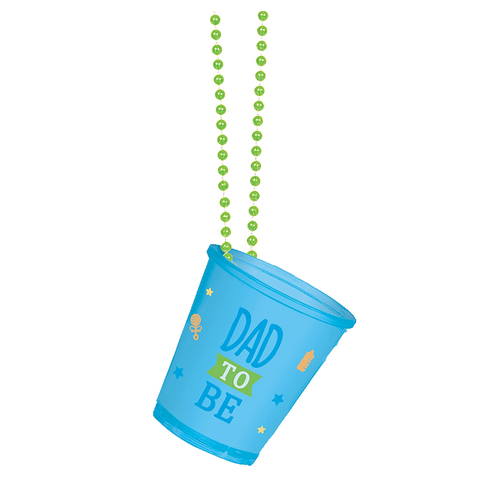 Dad-to-Be Shot Glass Bead Necklace Image #1