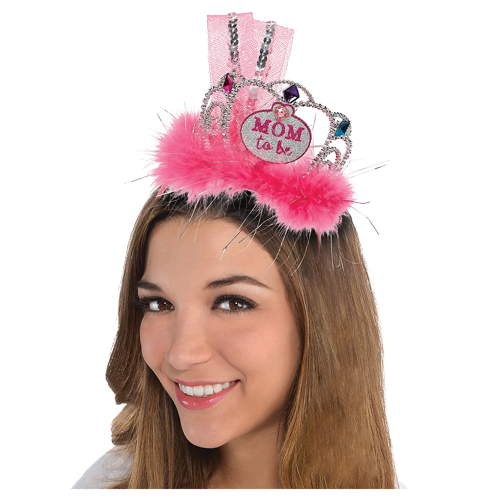 Mom-to-Be Tiara Headband Image #1