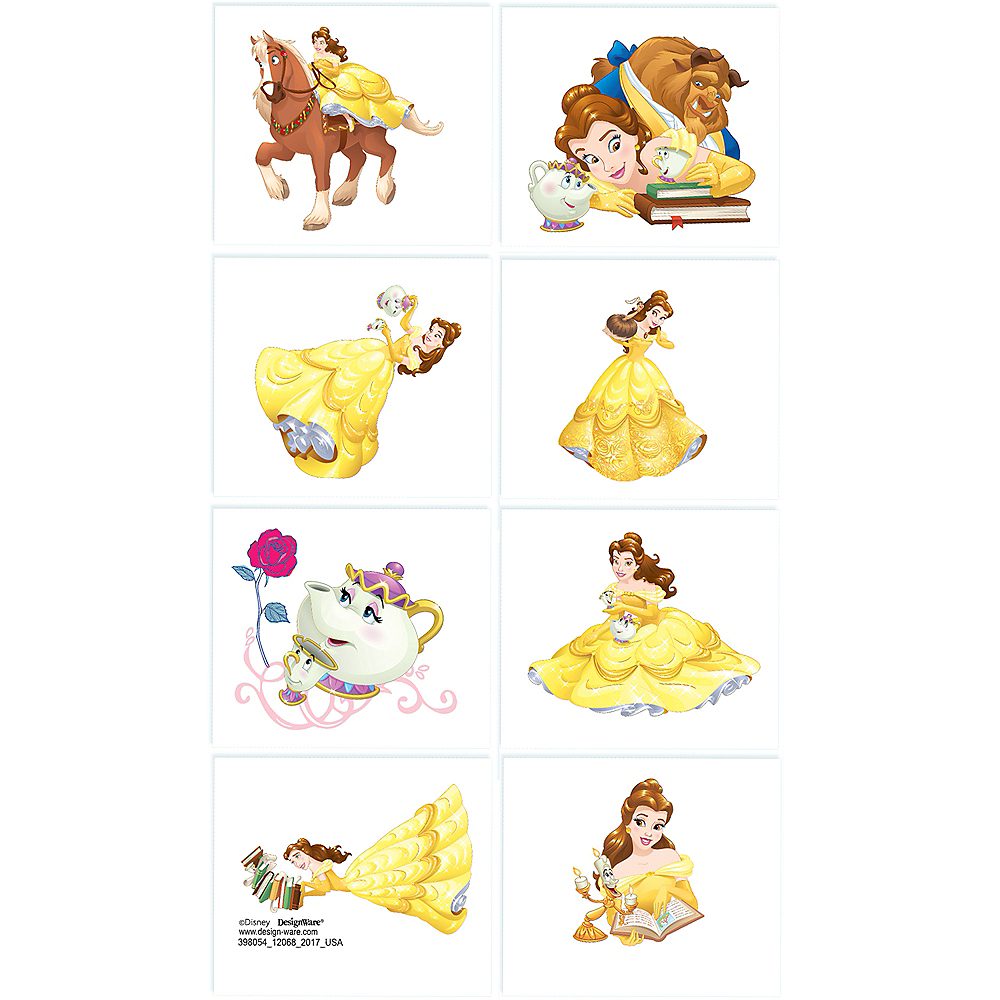 Beauty and the Beast Tattoos 1 Sheet Image #1