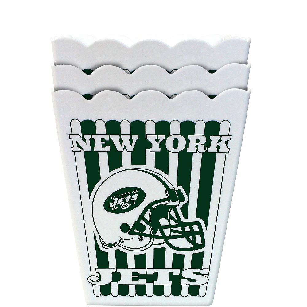 New York Jets Popcorn Boxes 3ct Image #1