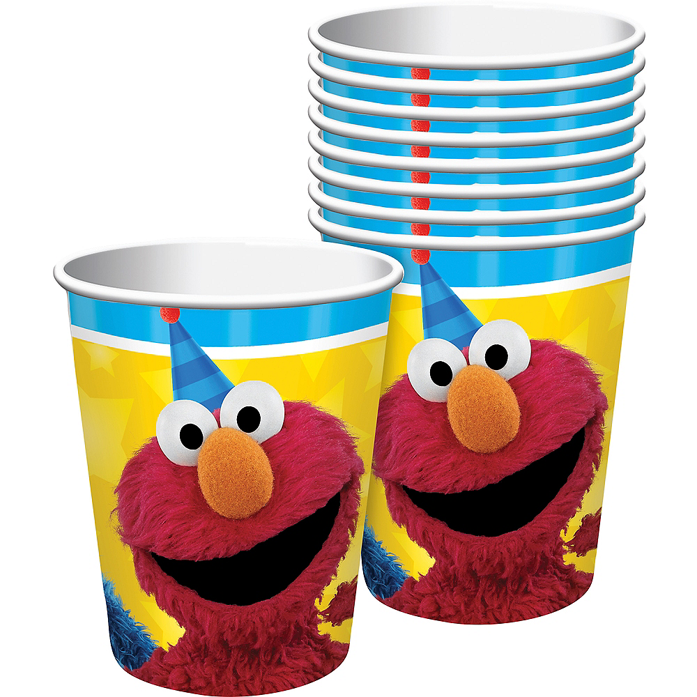 Sesame Street Cups 8ct Image #1