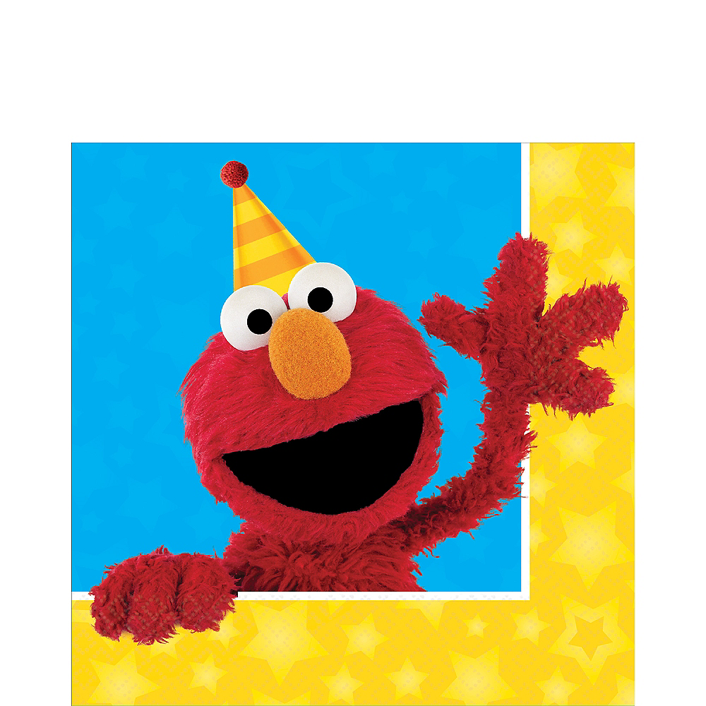 Sesame Street Lunch Napkins 16ct Image #1