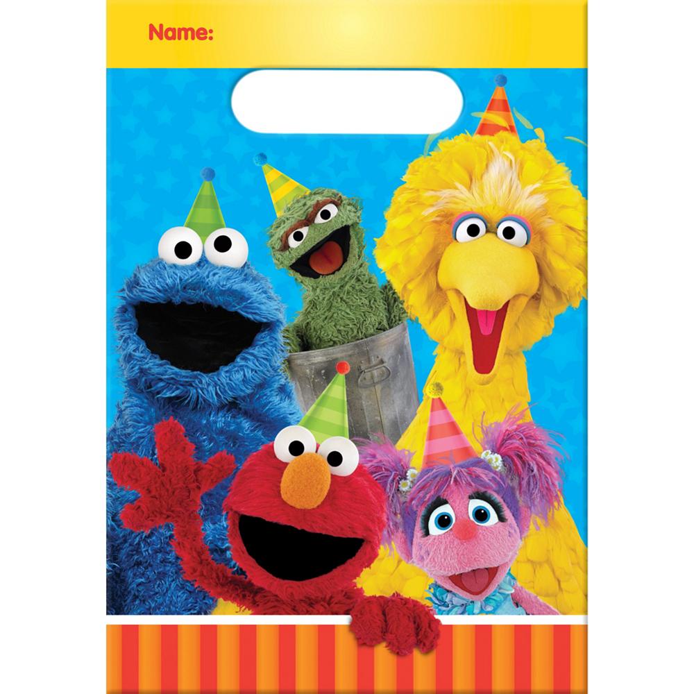 Sesame Street Favor Bags 8ct Image #1