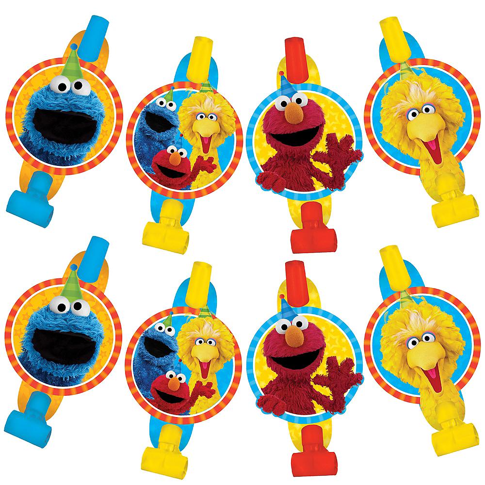 Sesame Street Blowouts 8ct Image #1