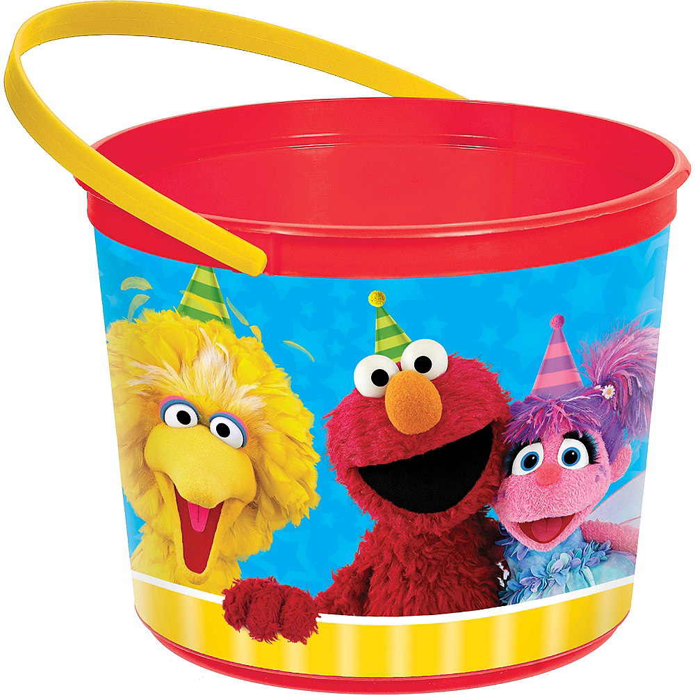 Sesame Street Favor Container Image #1