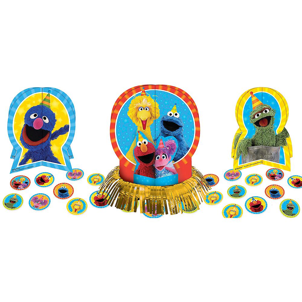 Sesame Street Table Decorating Kit 23pc Image #1
