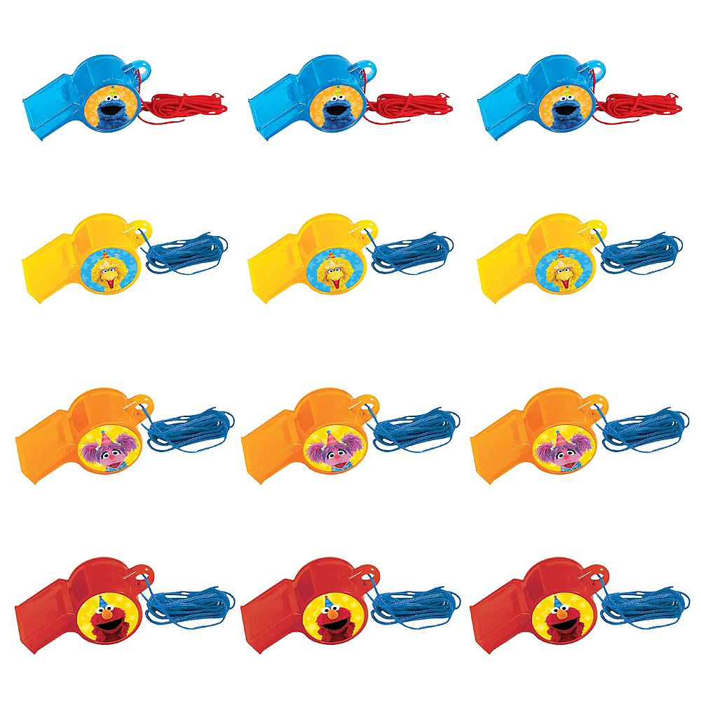 Sesame Street Whistles 12ct Image #1