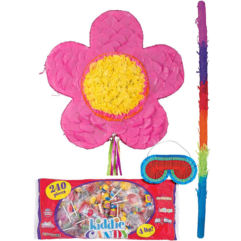 Pink Flower Pinata Kit Image #1