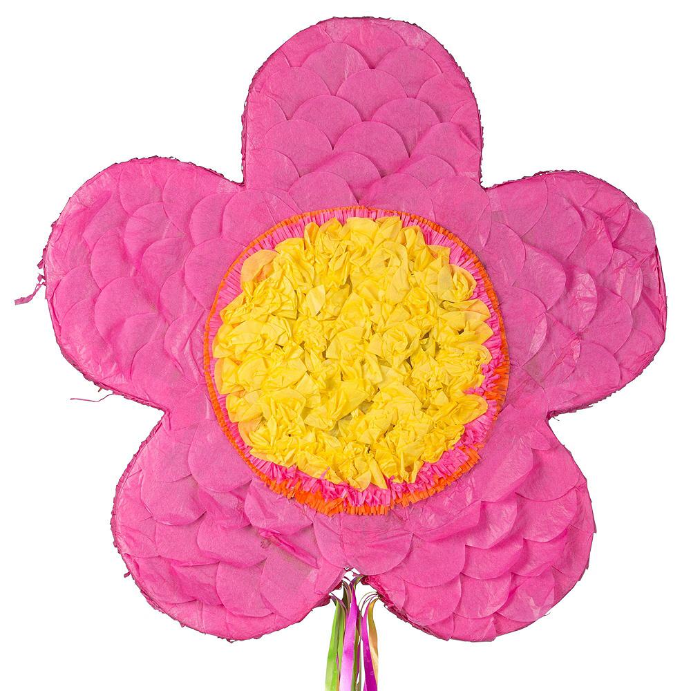 Pink Flower Pinata Kit Image #2
