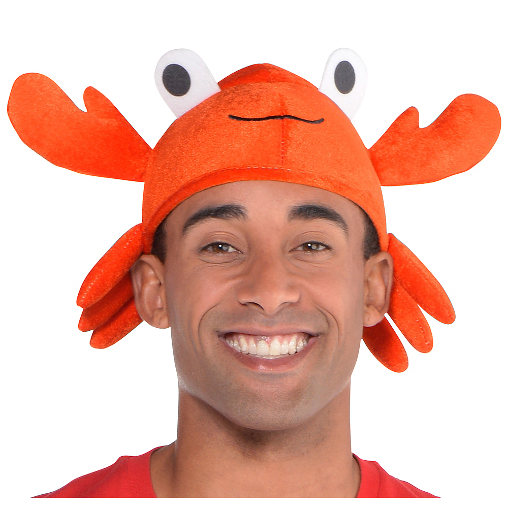 Crab Hat 6 12in X 6in Party City