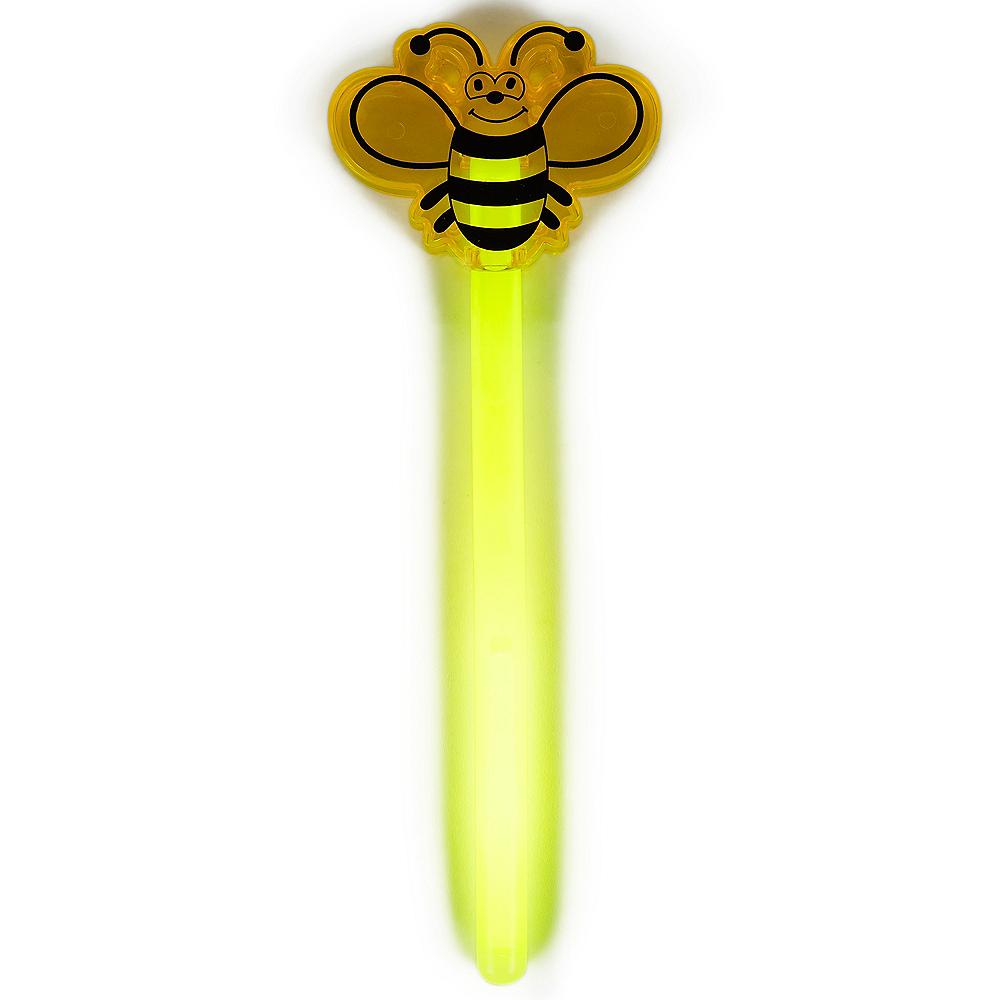 Yellow Bee Glow Wand Image #2
