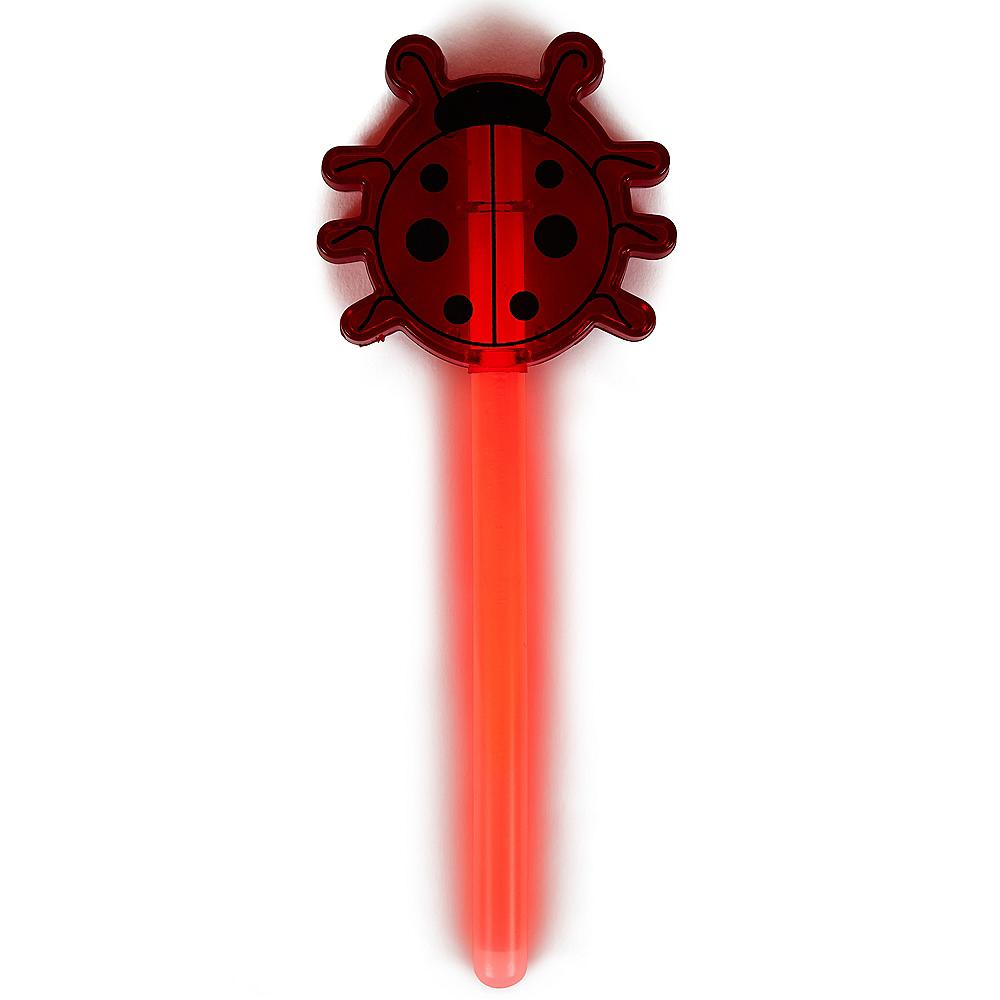 Red Ladybug Glow Wand Image #2