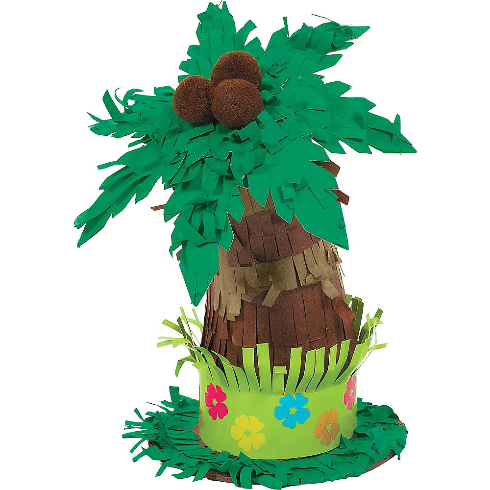 Palm Tree Pinata Decoration Image #1