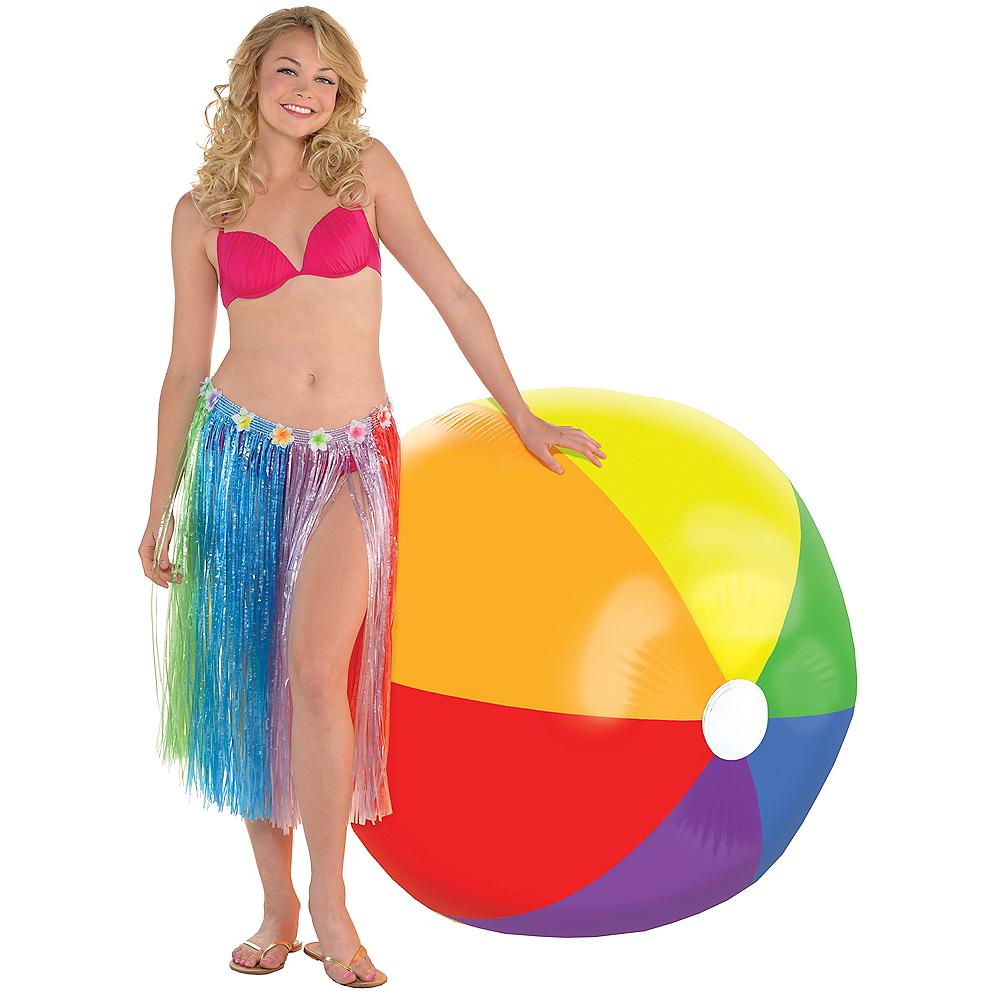 Giant Rainbow Beach Ball Image #1