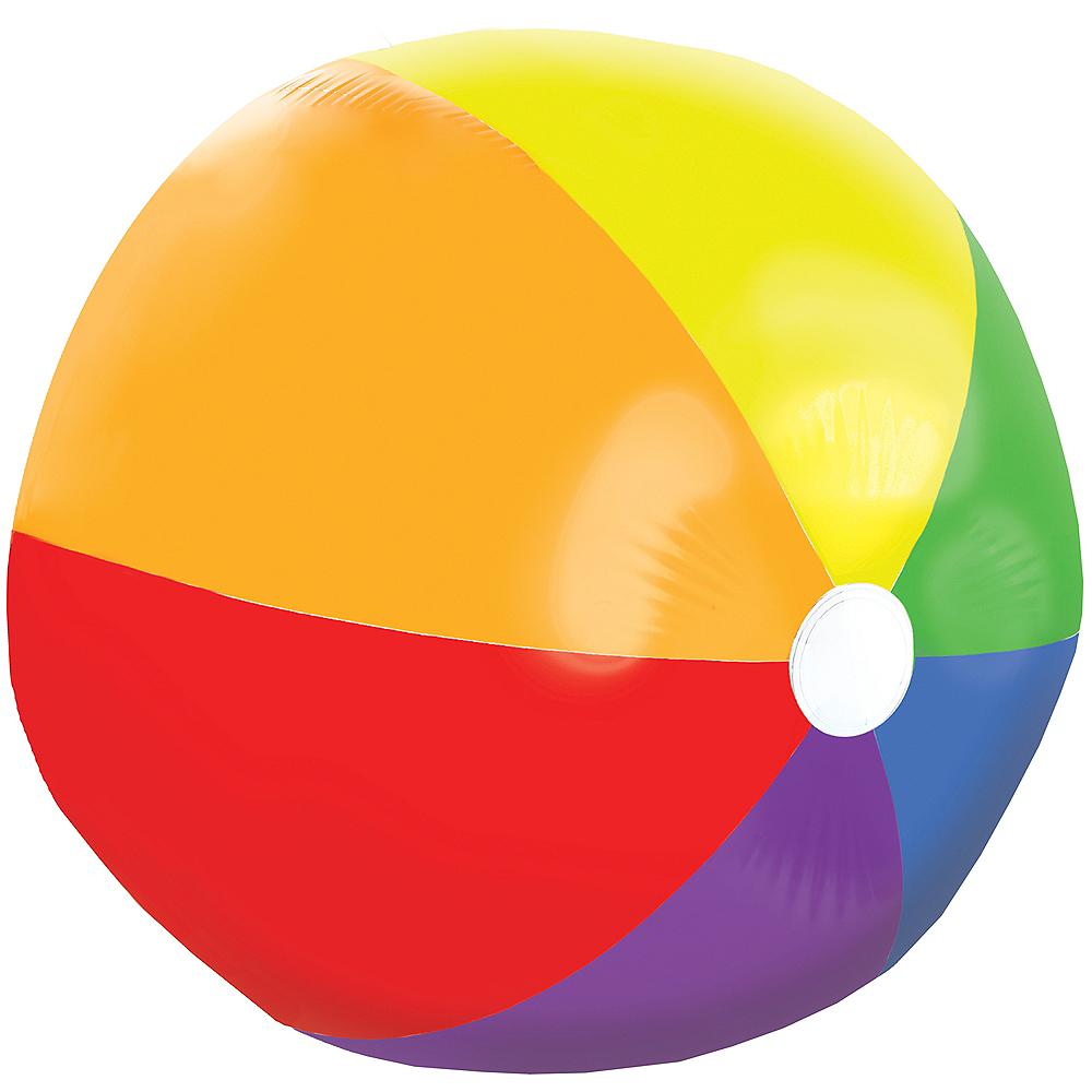 Giant Rainbow Beach Ball Image #2
