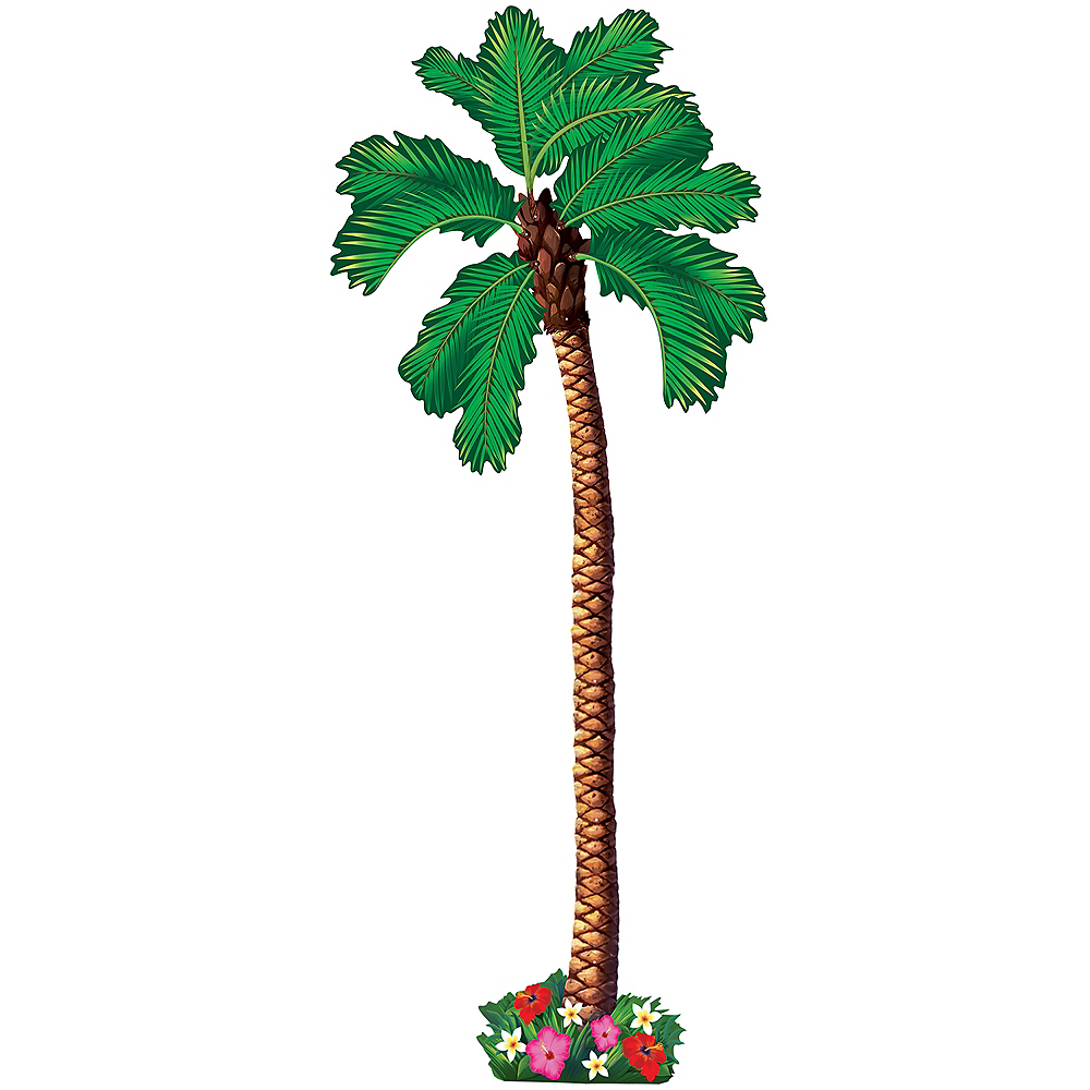 Jointed Palm Tree Cutout Image #1