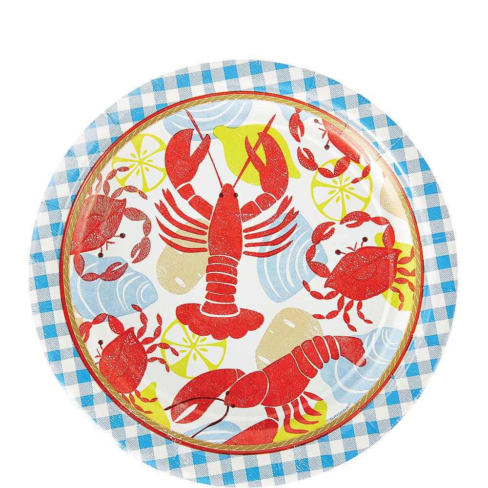 Seafood Fest Dessert Plates 8ct Image #1
