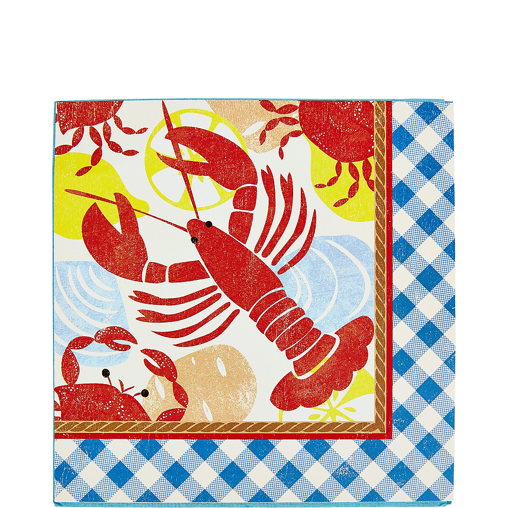 Seafood Fest Lunch Napkins 16ct Image #1