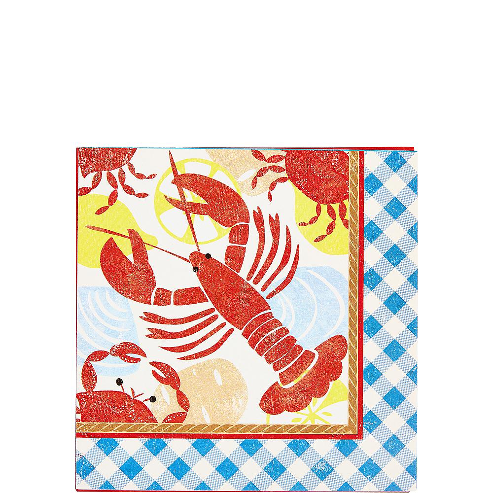 Seafood Fest Beverage Napkins 16ct Image #1