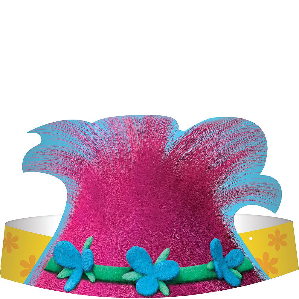 Trolls Paper Hats 8ct Image #1