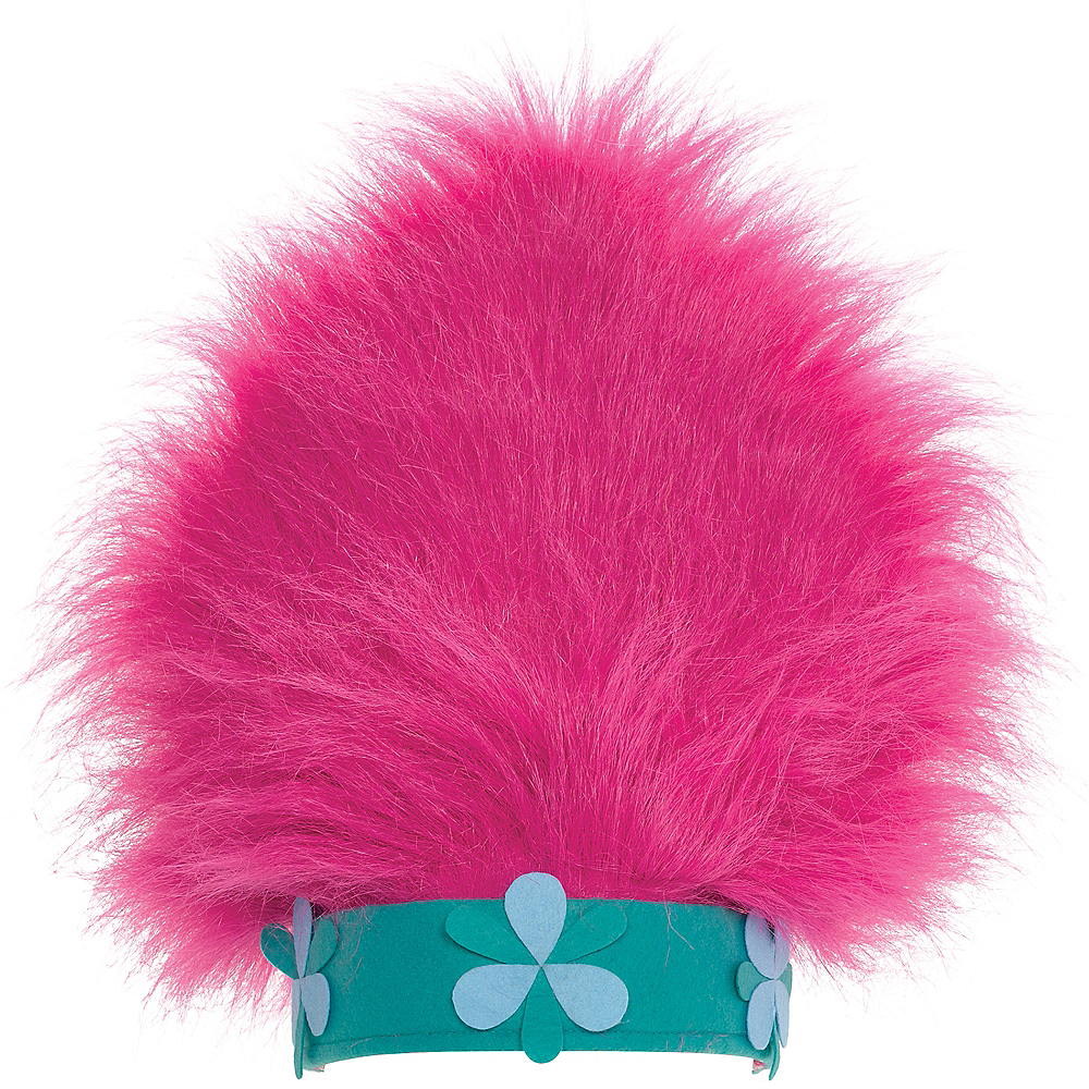 Trolls Hat with Hair Image #1