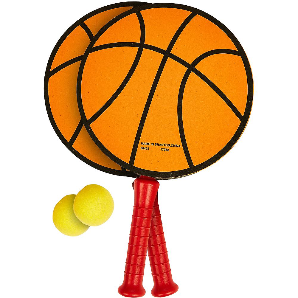 Basketball Paddle Ball Game Set 3pc Image #1