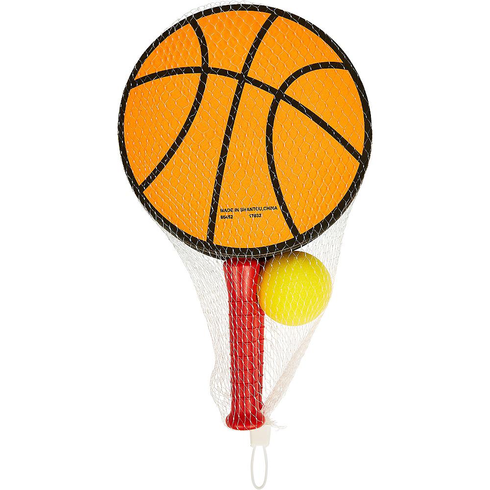 Basketball Paddle Ball Game Set 3pc Image #2