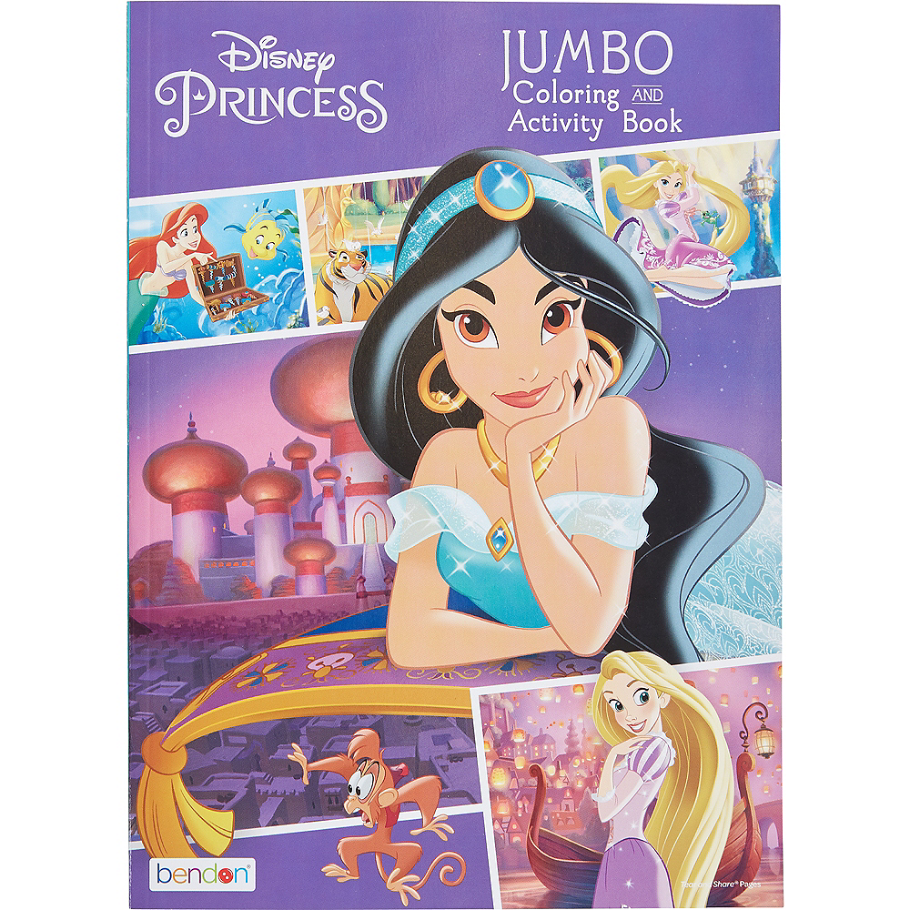 Princess Jasmine Coloring & Activity Book Image #1
