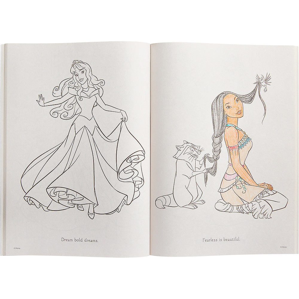 Princess Jasmine Coloring & Activity Book Image #2