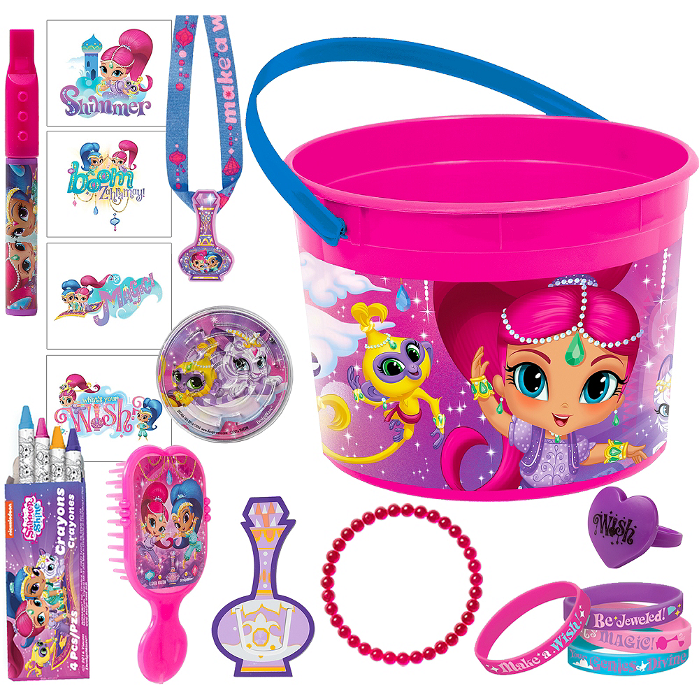 Nav Item for Shimmer and Shine Ultimate Favor Kit for 8 Guests Image #1