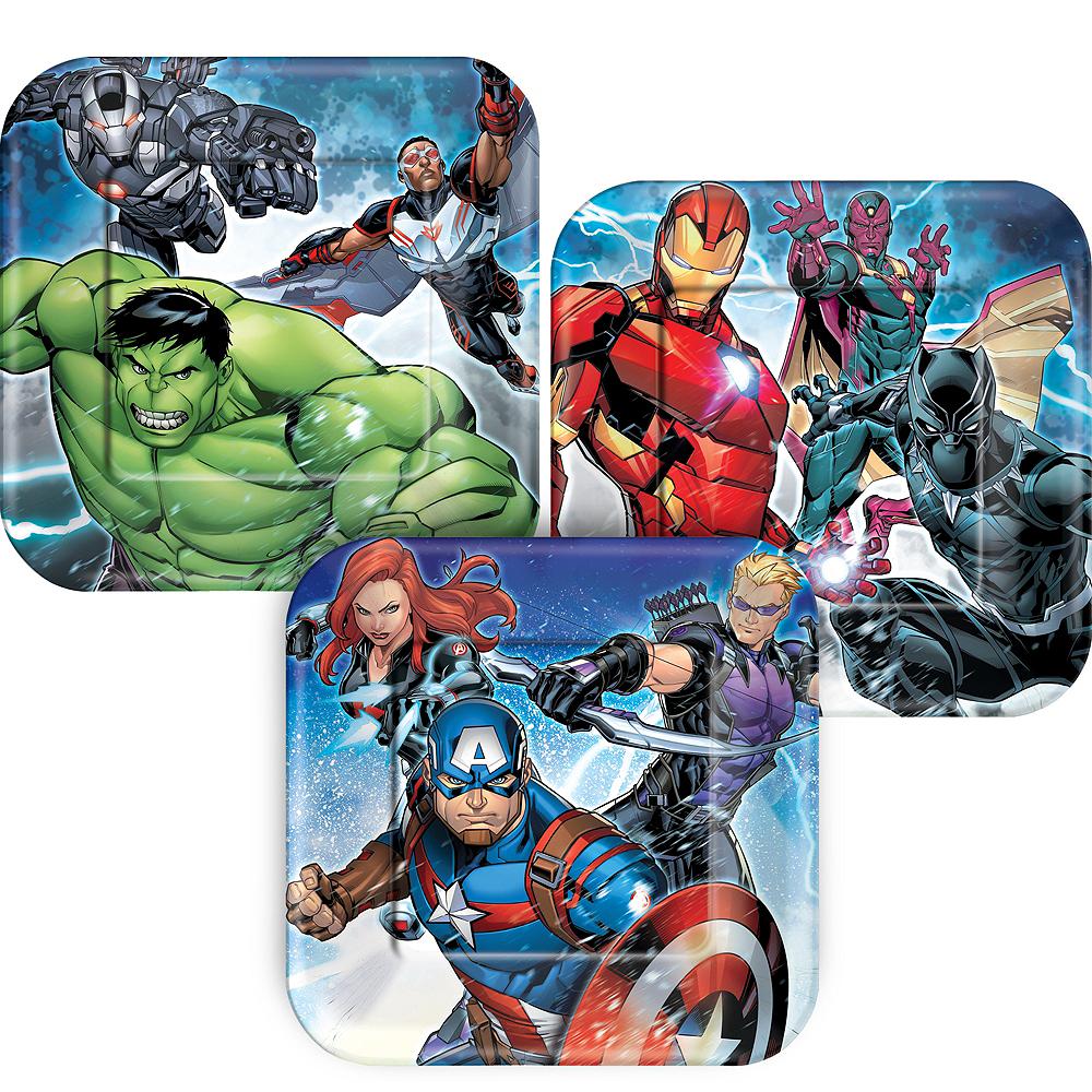 Avengers Dessert Plates 8ct Image #1