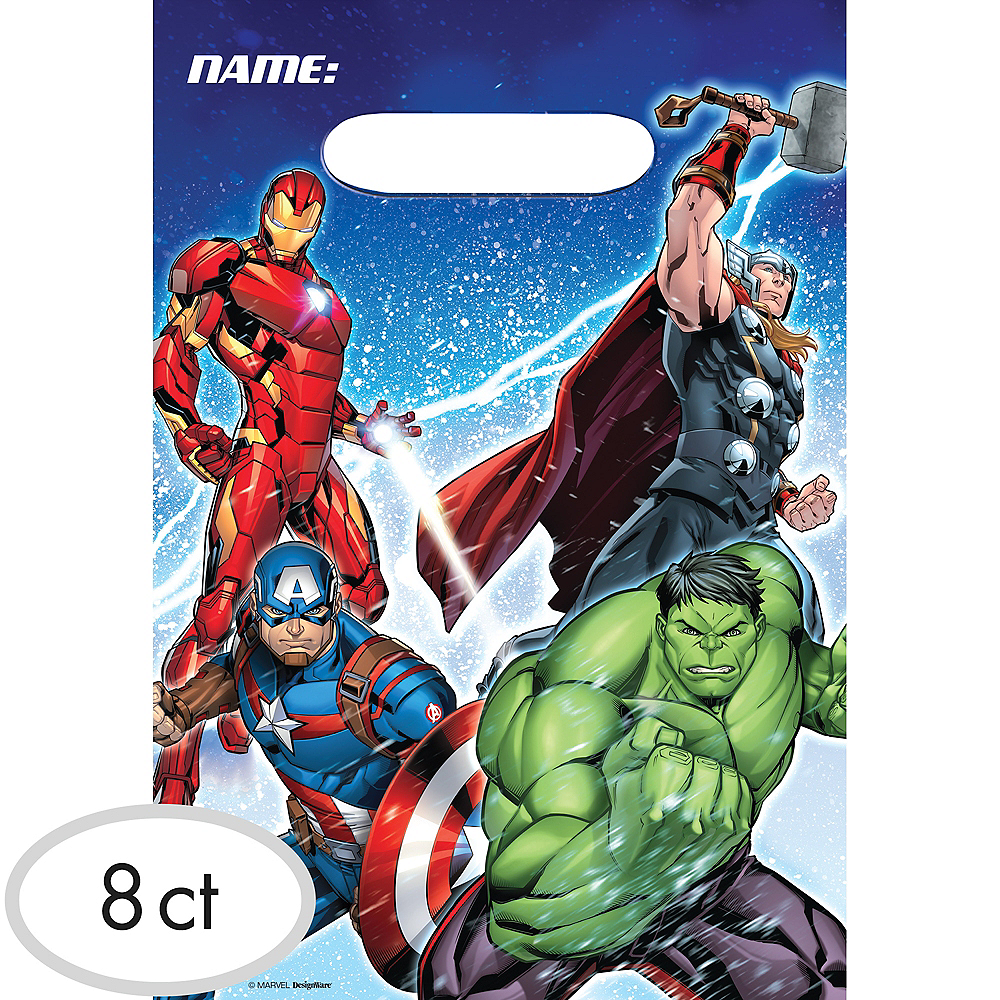 Avengers Favor Bags 8ct Image #1