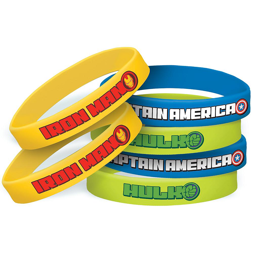 Avengers Wristbands 6ct Image #1